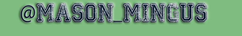 Mason Mingus Racing Logo